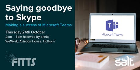 Saying goodbye to Skype: Making a success of Microsoft Teams tickets