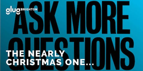 The Nearly Christmas One... Glug Brighton in association with Look at This tickets