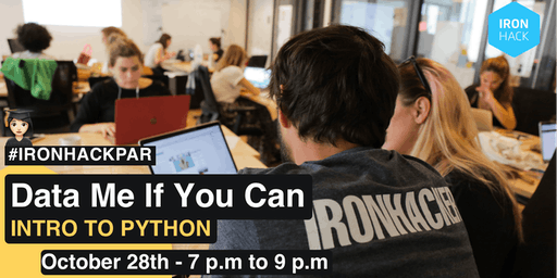 Data Me If You Can | Intro to Python