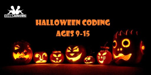 Halloween Coding Party (for ages 9-15)