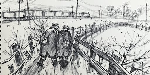 Behind the Scenes: The Norman Cornish Sketchbooks