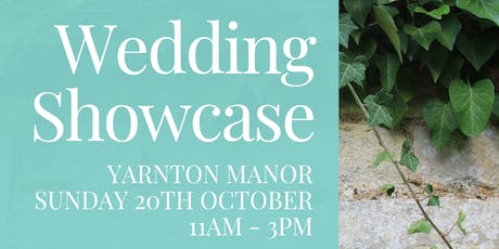 Yarnton Manor Wedding Showcase tickets