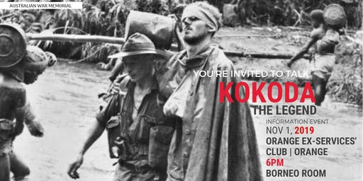 Kokoda Information Night