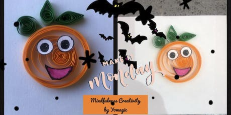 Halloween Family Card Quilling - Taster tickets