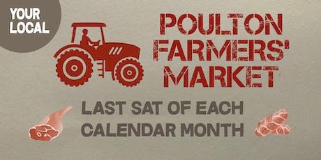 Poulton-le-Fylde monthly Farmers' Market tickets