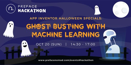 Preface Hackathon: Ghost busting with Machine Learning (Age 9+)