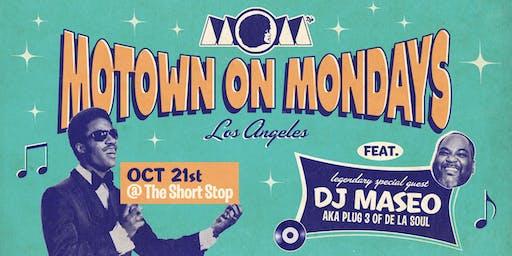 DJ MASEO (of De La Soul) • Motown On Mondays LA