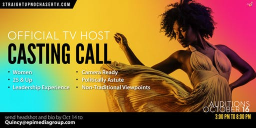 Official TV Host Casting Call
