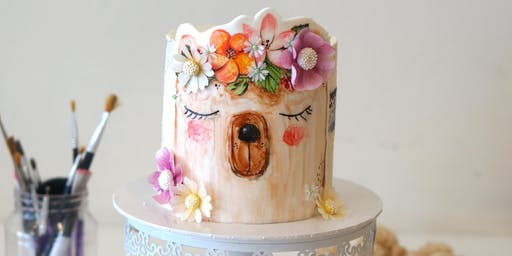 Woodland Teddy cake