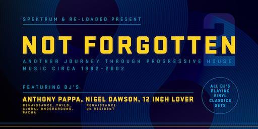 Not Forgotten #2 (Progressive House 1992-2002)