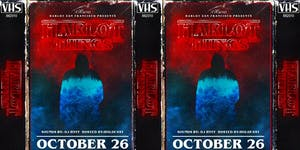 STRANGER THINGS Halloween Party with DJ HVFF Saturday...