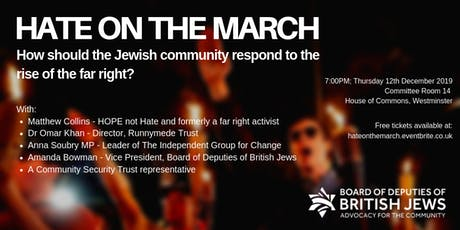 CANCELLED: Hate on the March tickets
