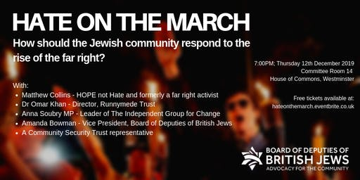 CANCELLED: Hate on the March
