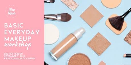 Basic Everyday Makeup Workshop tickets