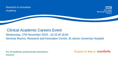 Clinical Academic Research Information Event tickets