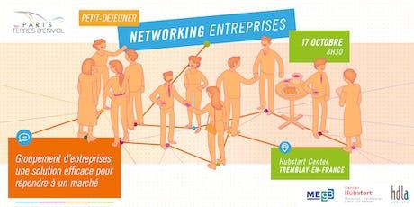 Petit-déjeuner networking entreprises de Paris Terres d'Envol  tickets