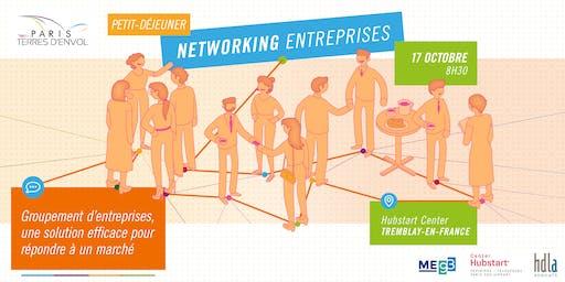 Petit-déjeuner networking entreprises de Paris Terres d'Envol