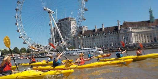 Kayak Bus  (Battersea to Greenwich).