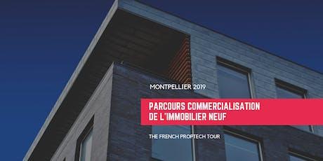 Le démonstrateur commercialisation de l'immobilier neuf Montpellier billets