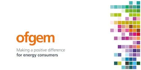 Ofgem Workshop on Consumer Engagement Trials tickets
