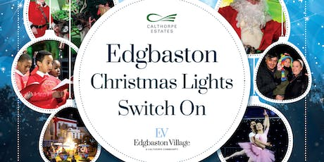 Edgbaston Christmas Light Switch On 2019 tickets