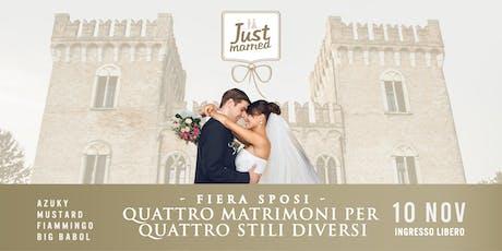 Fiera sposi al Castello Bevilacqua biglietti