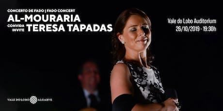 Fado Concert  | Al Mouraria invites… Teresa Tapadas tickets