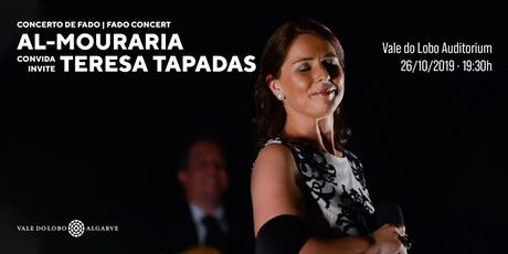 Fado Concert  | Al Mouraria invites… Teresa Tapadas bilhetes