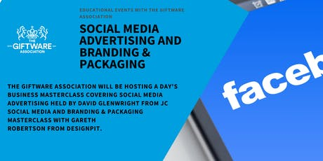 SOCIAL MEDIA ADVERTISING AND BRANDING & PACKAGING  tickets