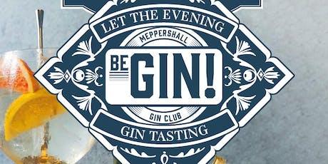 Meppershall Gin Club  Festive Gin Tasting Evening tickets