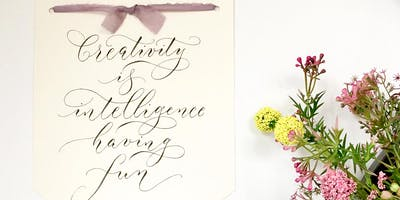BRUSH LETTERING FOR BEGINNERS with By Moon & Tide