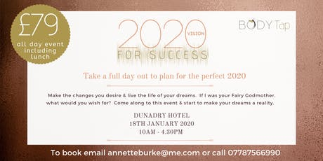 2020 Vision For Success tickets
