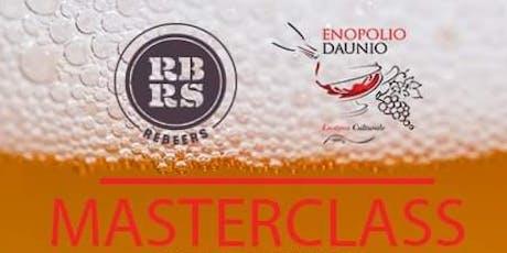 Masterclass sulla birra artigianale biglietti