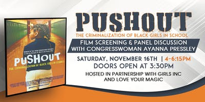 Pushout Film Screening and Panel Discussion