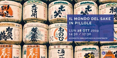Il Mondo del Sake in pillole