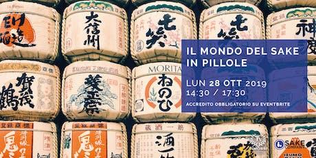 Il Mondo del Sake in pillole biglietti