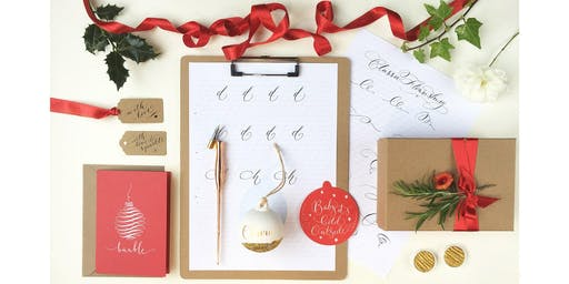 CHRISTMAS CALLIGRAPHY with By Moon & Tide