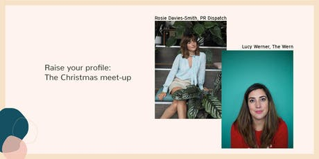 Raise your profile: The Christmas meet up tickets