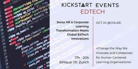 Swiss HR & Corporate Learning Transformation Meets Global EdTech Innovation tickets