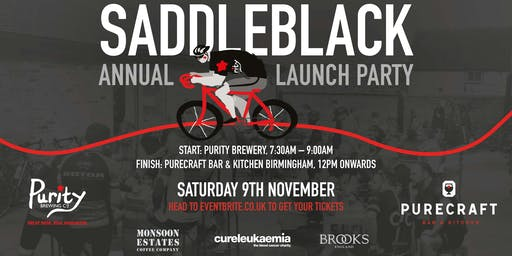 Saddle Black Cask Launch - Brewery to Bar Bike Ride