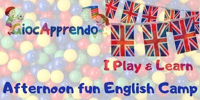Afternoon English fun camp