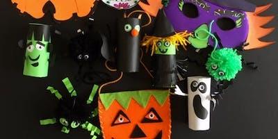 Children's Halloween Mask & Felt Bag workshop with Sue Edwards.