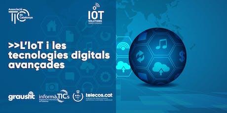 """#IOTSWC side event: """"L'IoT i les tecnologies digitals avançades"""" tickets"""