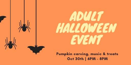 Adult Halloween Event