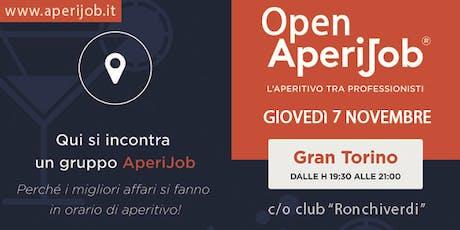 Open AperiJob - Incontro tra Professionisti biglietti