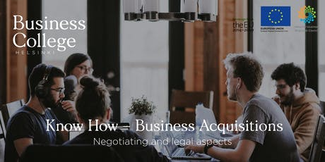 Know How - Business Acquisitions; Negotiating and Legal Aspects tickets