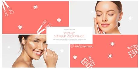 Makeup Masterclass SYDNEY | Ace Your Base Makeup tickets