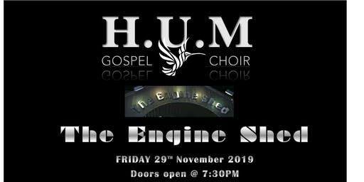 HUM Gospel Choir Live At The Engine Shed Wetherby - Friday 29th November