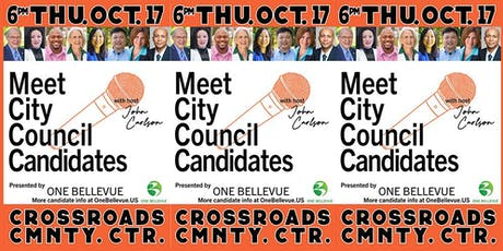 Bellevue All-City Council Candidate Forum by One Bellevue tickets