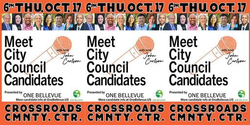 Bellevue All-City Council Candidate Forum by One Bellevue